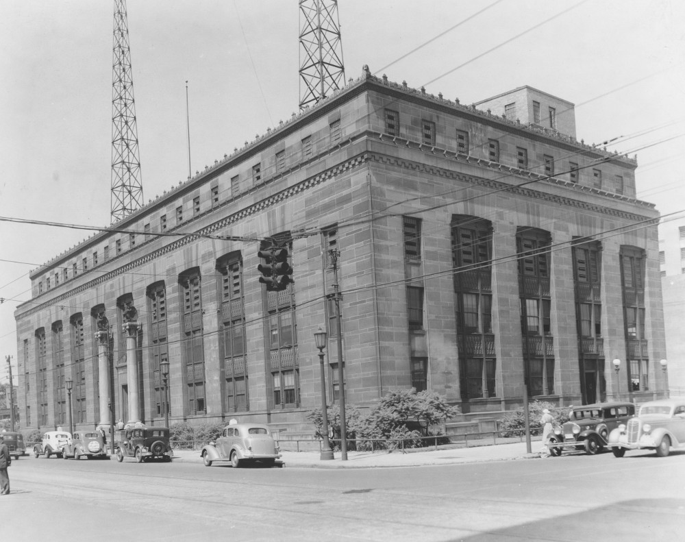 Central Police Station on Payne Avenue - 1937
