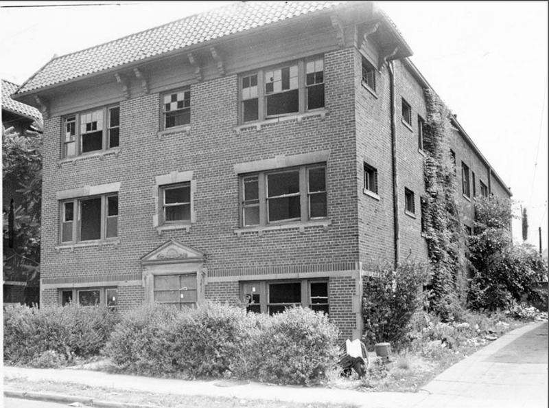 Blighted Apartment Building, 1966