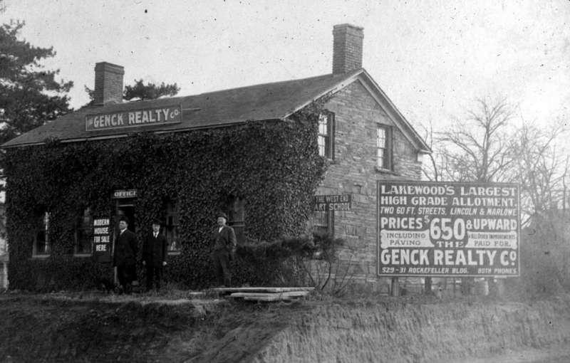 Stone House, Circa 1907