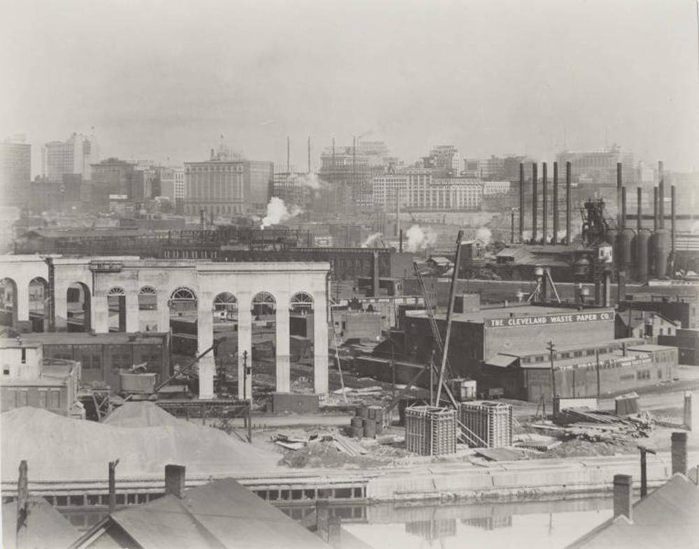 Cleveland Union Terminal Viaduct, ca. 1926