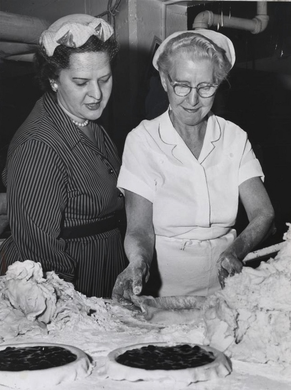 Pie-Baking Demo, 1960