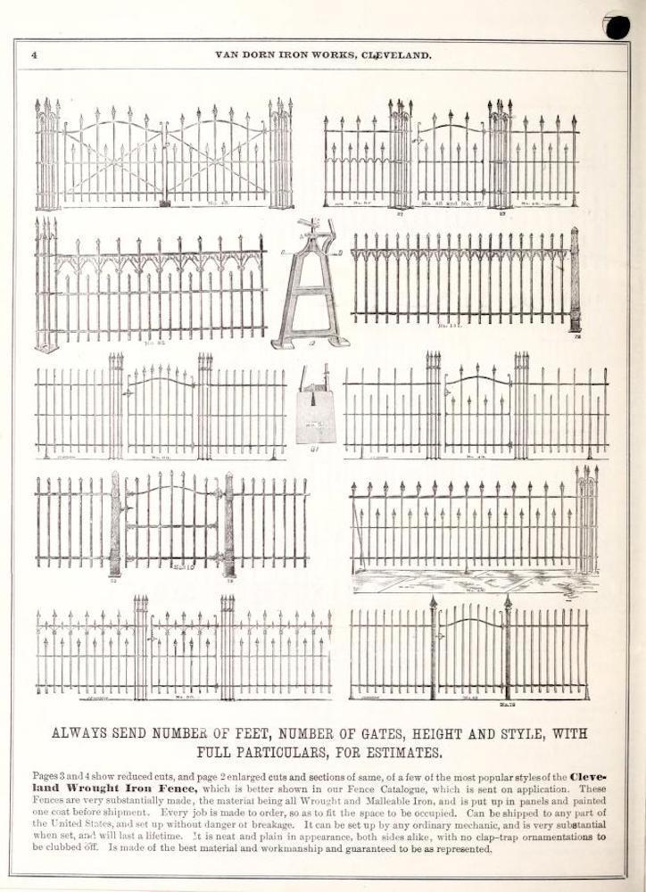 Cleveland Wrought Iron Fences