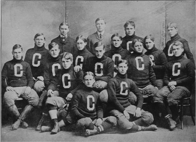 Cleveland Central High School Football Team, 1901