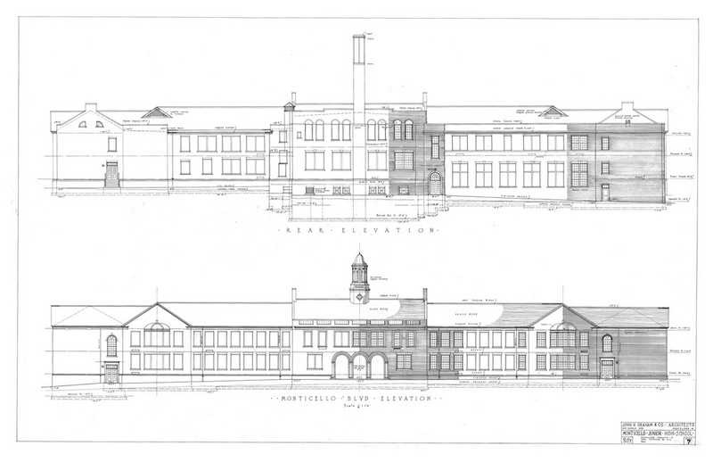 Architectural Elevations, 1929