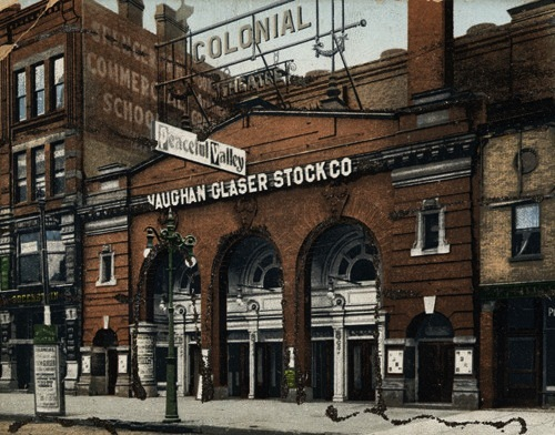 The Colonial Theatre Building, early 1900s