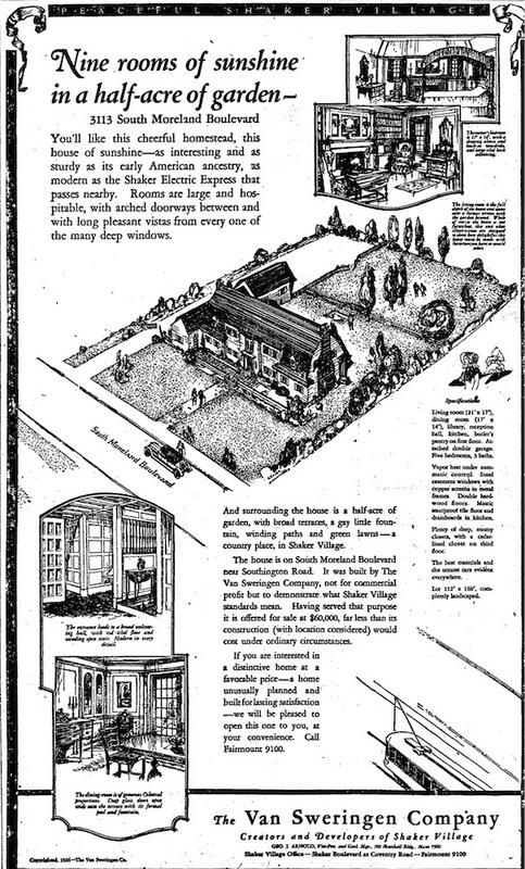 3113 Van Aken Ad, 1926