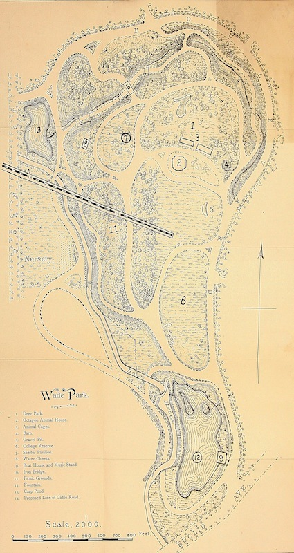Map of Wade Park