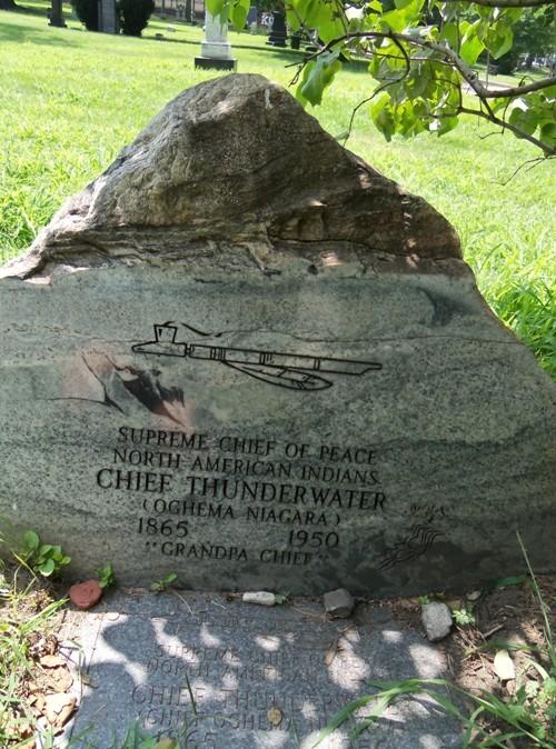 The Chief Thunderwater Marker