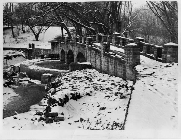 Stone Footbridge, 1966
