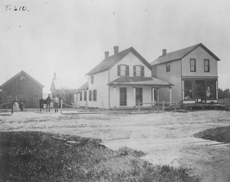 Warrensville Center and Kinsman Road, ca 1900