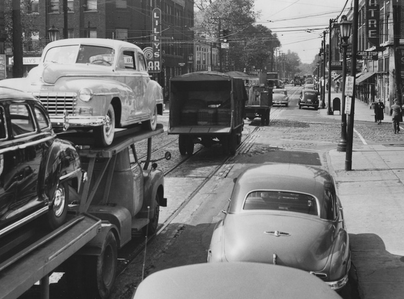 W. 65th Street and Detroit Avenue, 1948
