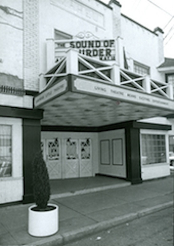 Side Angle View of Front Entrance, c. 1973