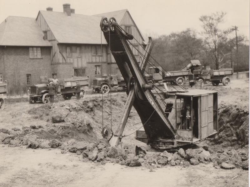 St. Paul's Construction, Fall 1927