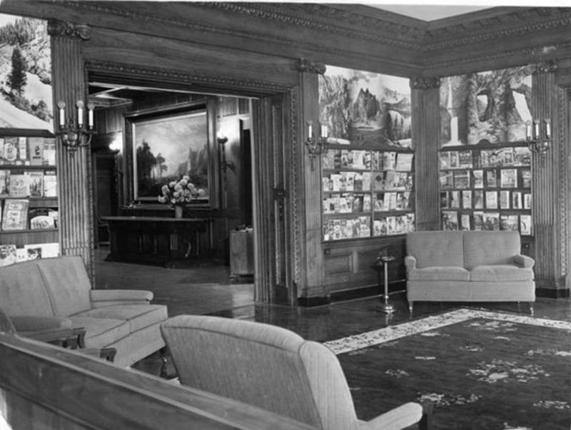 Mansion as Auto Club, 1940