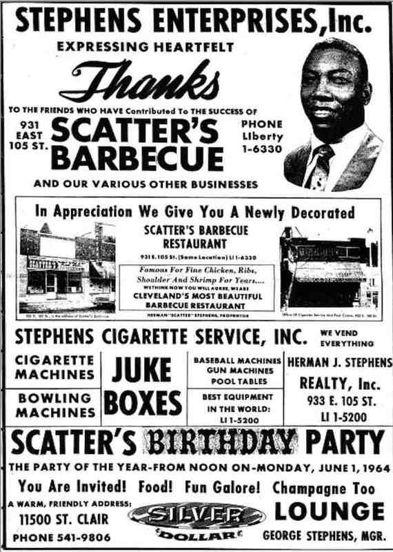 Stephens Enterprises Ad, 1964