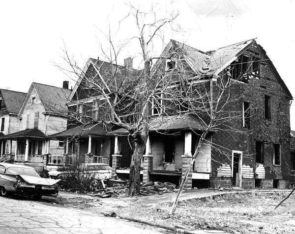 House in the Proposed Renewal Area, 1970