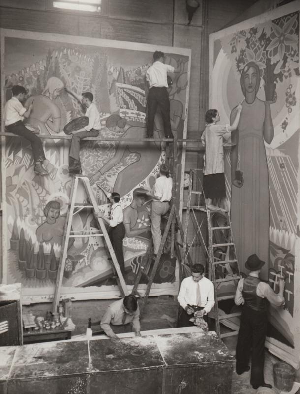 Mural, 1936
