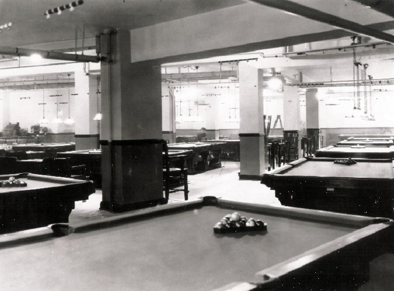 Billiards Hall in the Gordon Square Arcade