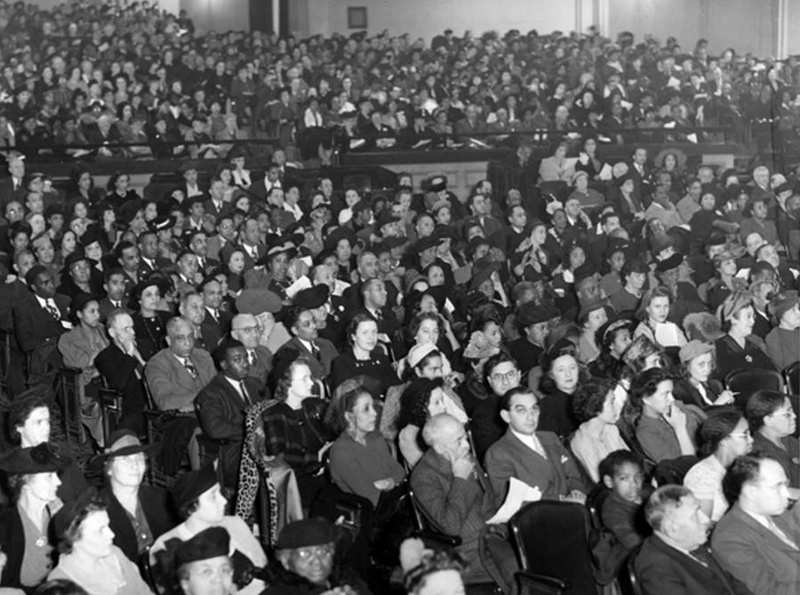 Victory Rally at Music Hall, 1942