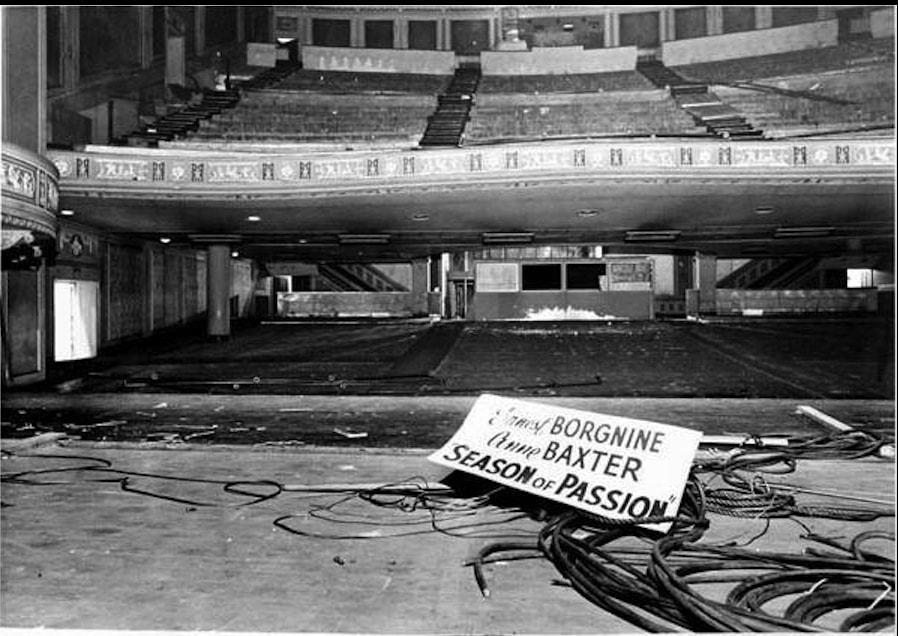 Demolishing a Grand Theater