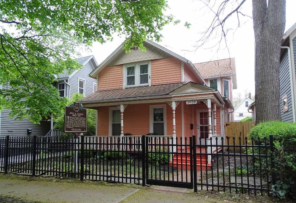 The True Heisman Birthplace, 3928 Bridge Ave.