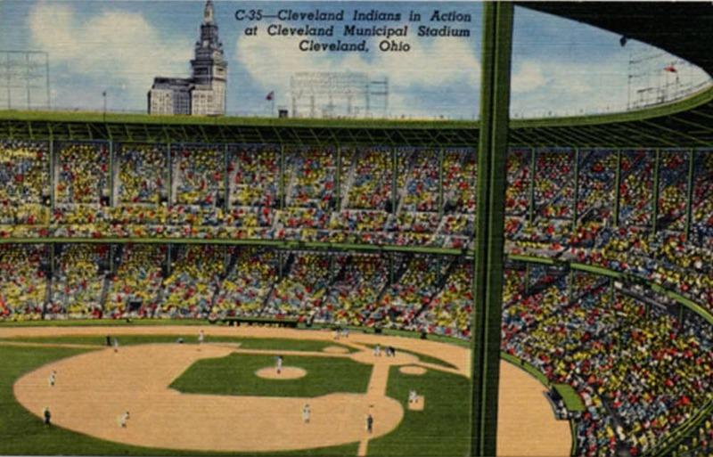 Cleveland Indians at Municipal Stadium, ca. 1930s