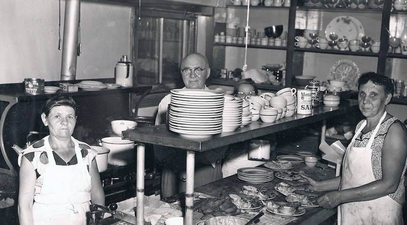 In the Kitchen with Stanley Dembowski, ca. 1950s