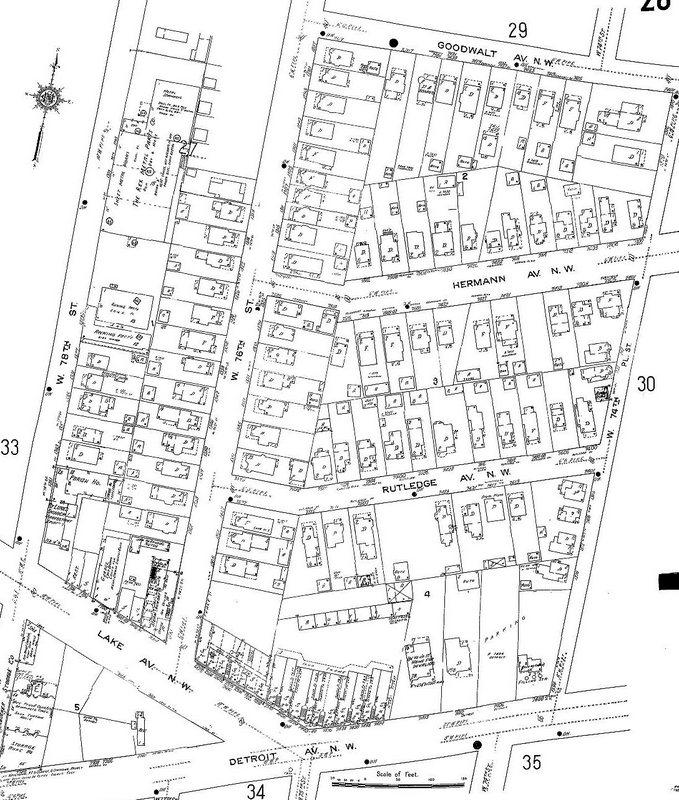 Kilbane Town, 1912