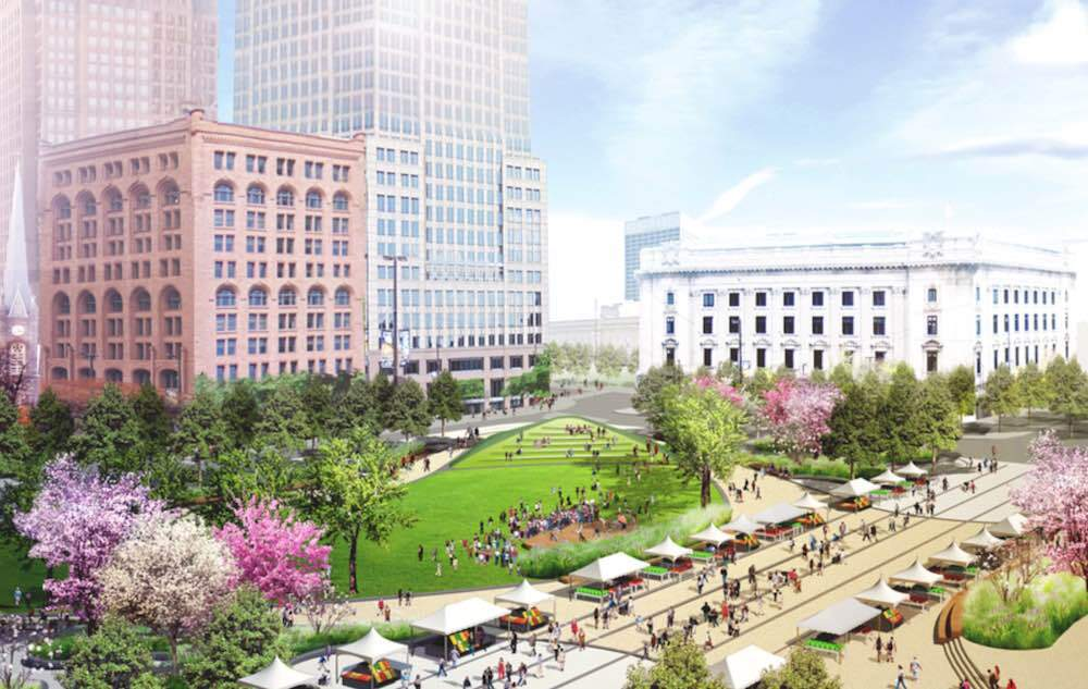 Public Square Redesign Rendering, 2014