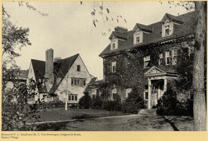 Herbert Van Sweringen's Home, ca. 1923