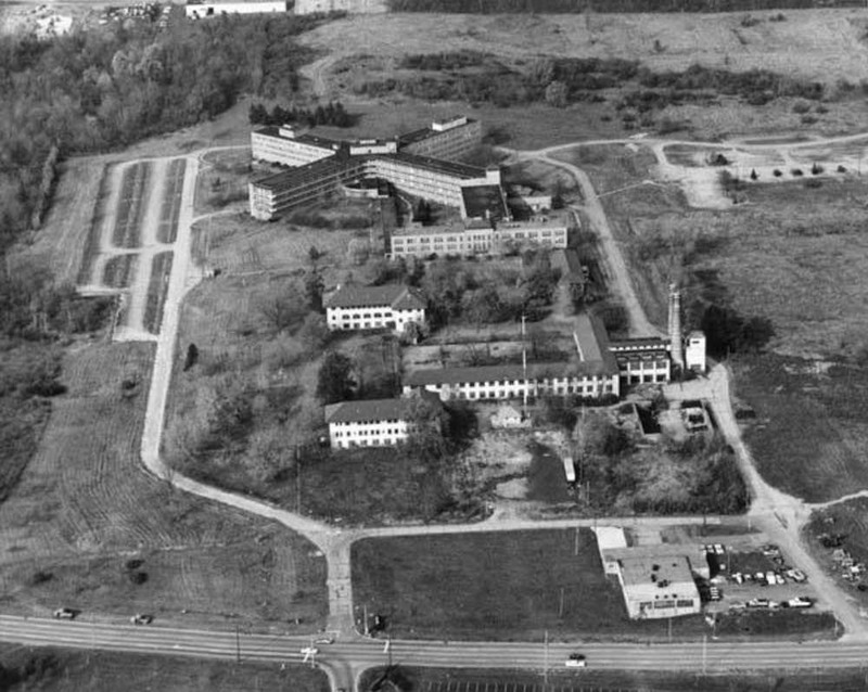 Aerial View of Highland View Hospital