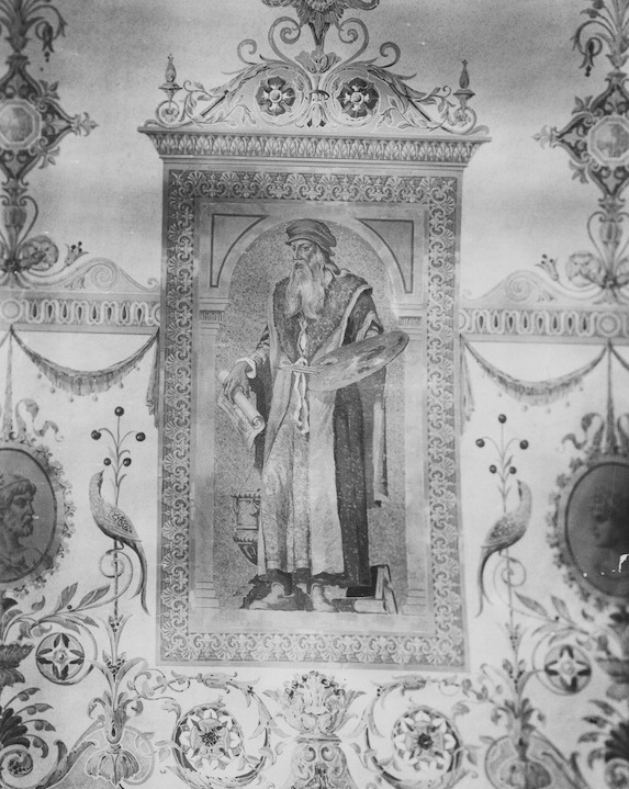 Painting on Vaulted Ceiling, 1928