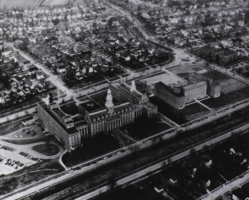 Aerial View of St. Luke's