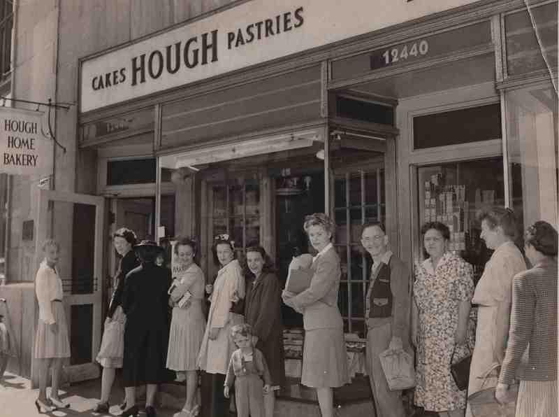 Line-up After V-J Holidays, 1945