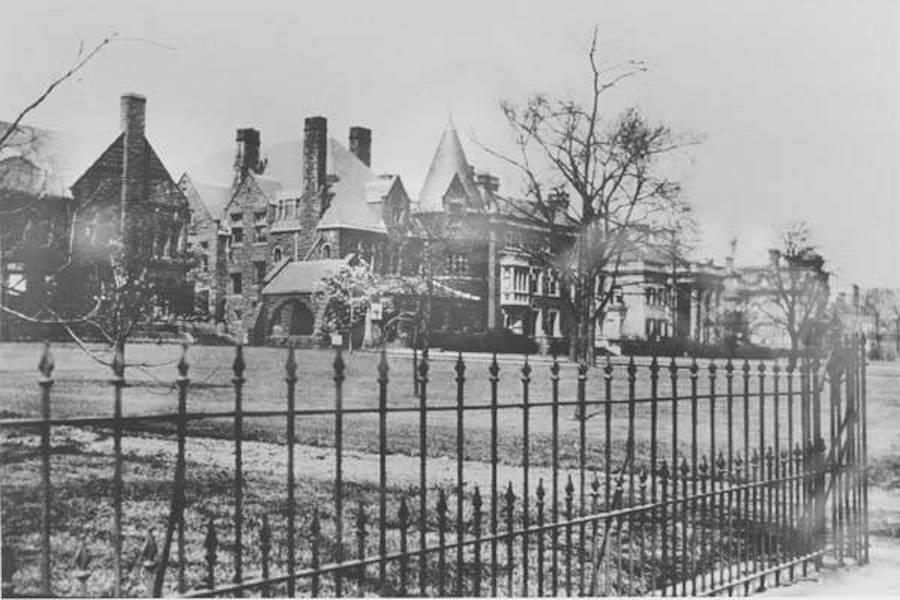Residences along Millionaire's Row, Euclid Avenue
