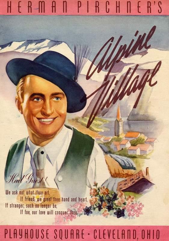 Menu Cover, 1943