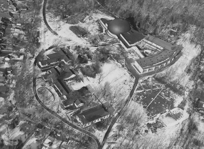 Aerial View of Park Grounds, 1952