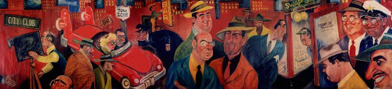 Bill Roberts Mural