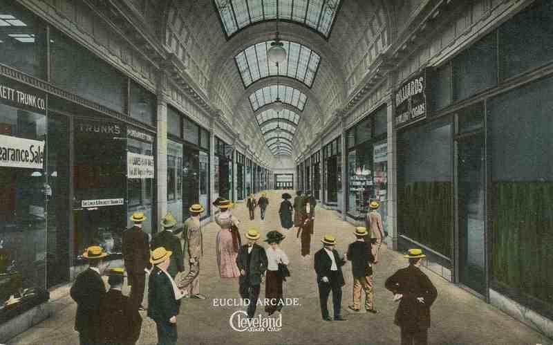 Euclid Arcade, Circa 1915