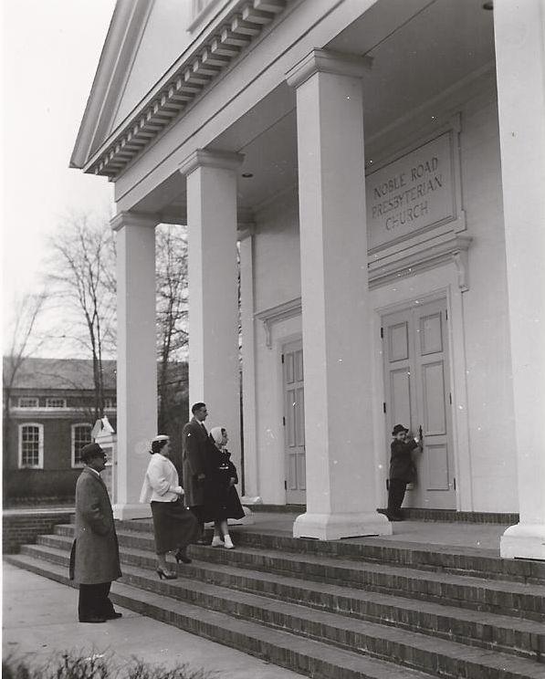 Church Entrance, ca. 1960s