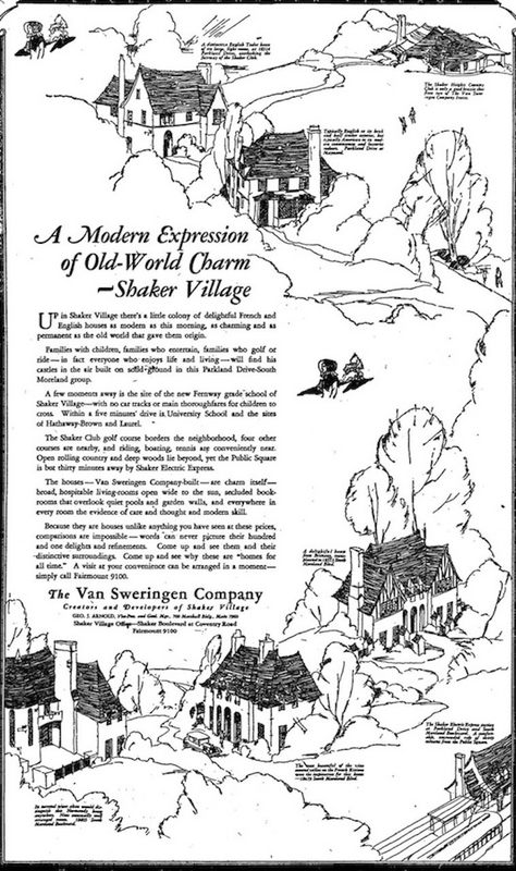 Old World Charm, 1926