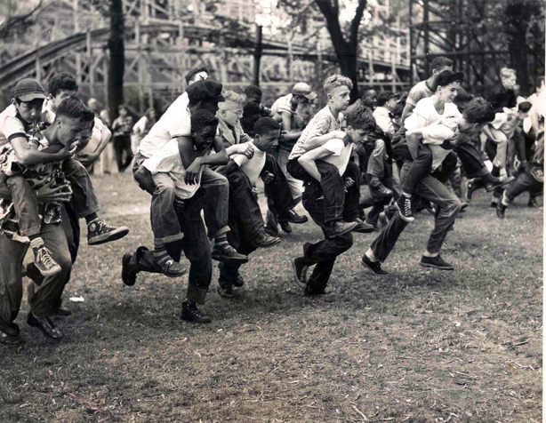 Three-Legged Race, 1951