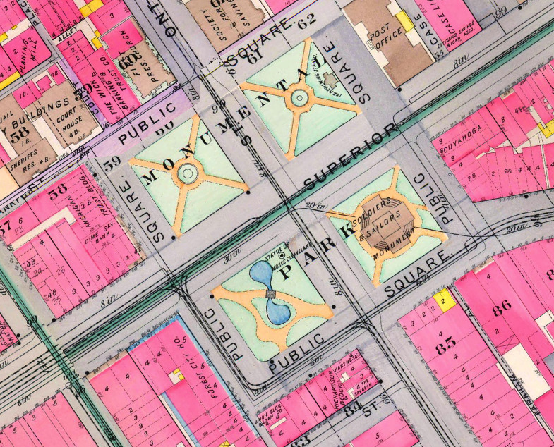 Rouse Block Mapped in 1898