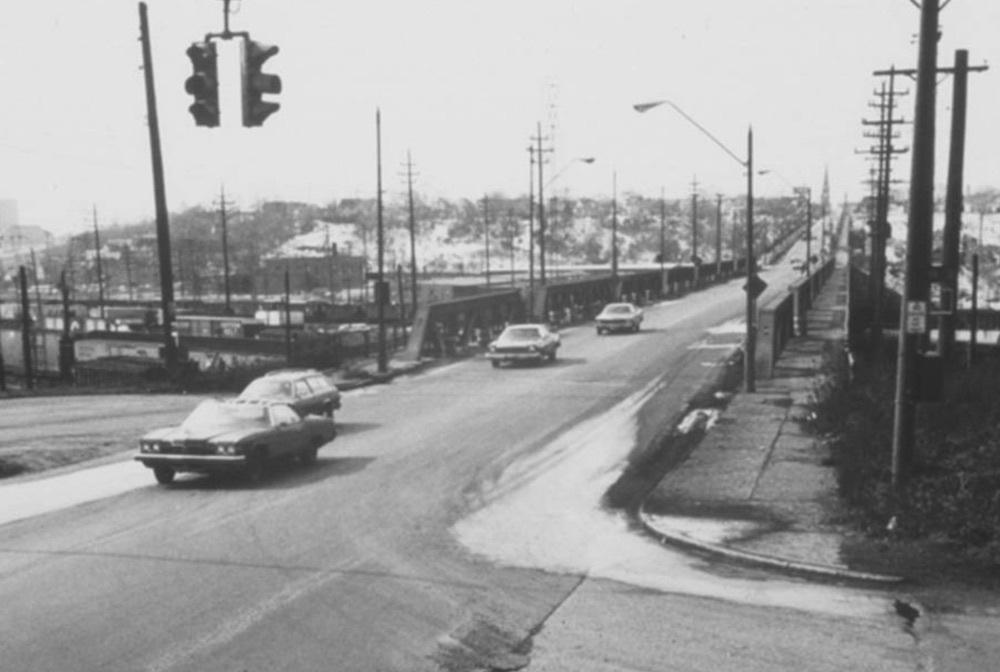 Clark Avenue Bridge, 1978