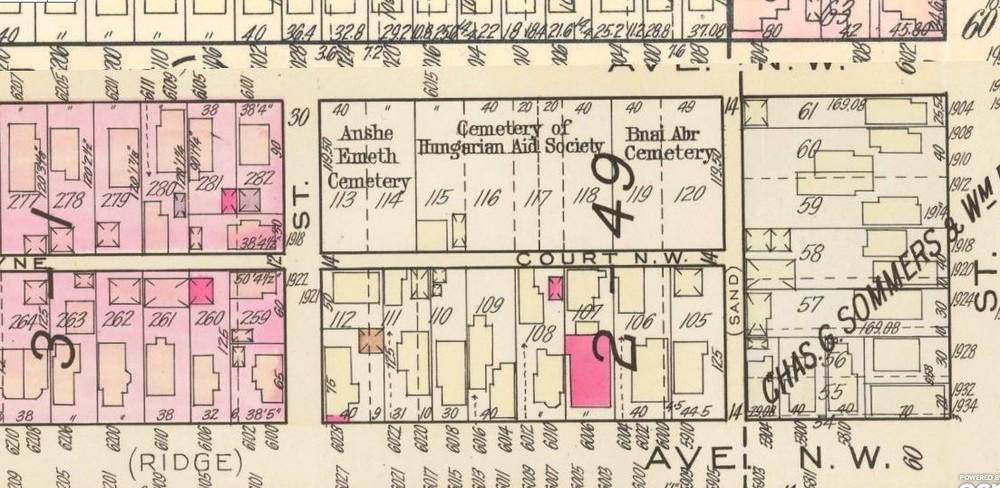 1932 Plat Map