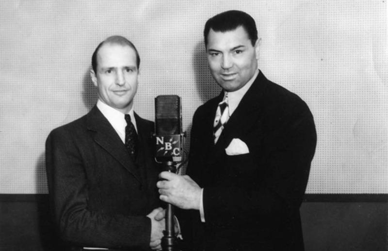 Herman Pirchner with Jack Dempsey, ca. 1940