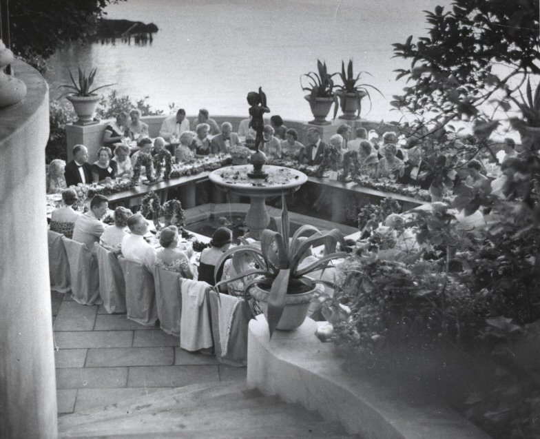 Party at Gwinn, 1957