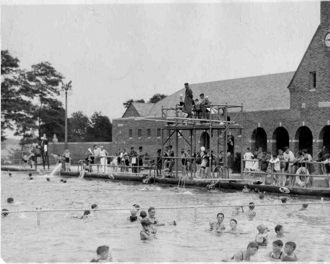 Pool Scene, 1927