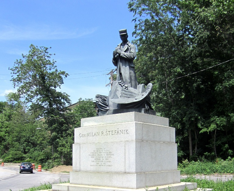 Cleveland Stefanik Statue - May 2013