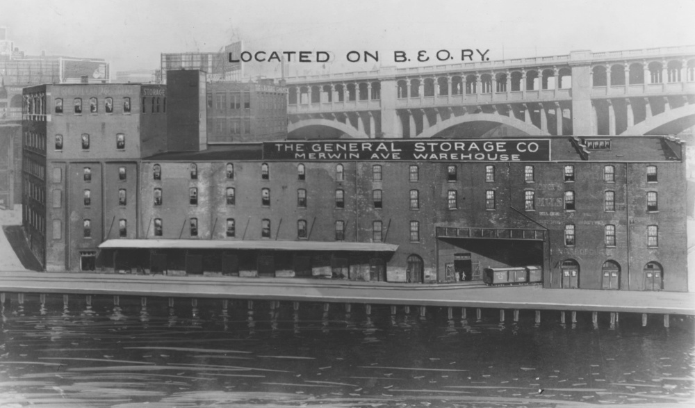 The Warehouses and Docks of Merwin Avenue